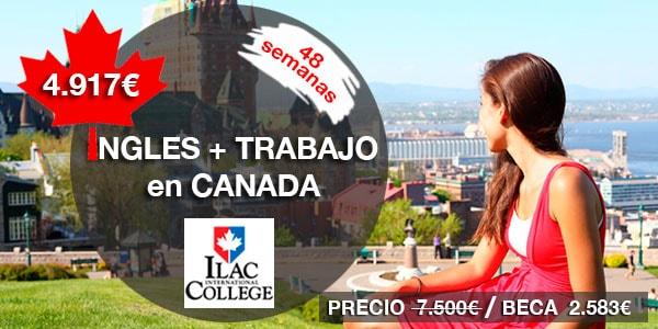 Curso de Inglés + trabajo en CANADA