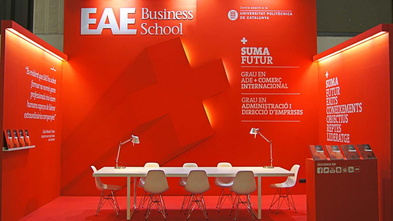 EAE BUSINESS SCHOOL: CATÁLOGO DE FORMACIÓN. MASTERS Y PROGRAMAS SUPERIORES