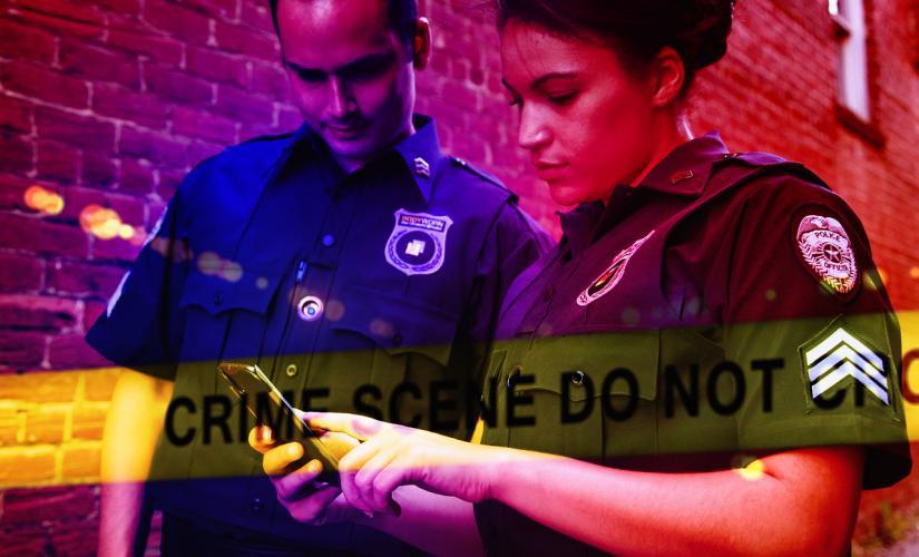 Como ser criminal investigacion escena crimen policia
