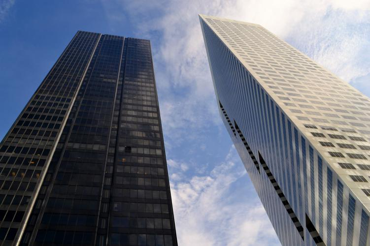 rascacielos ejecutivos