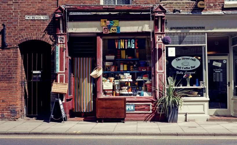 Escaparate vintage