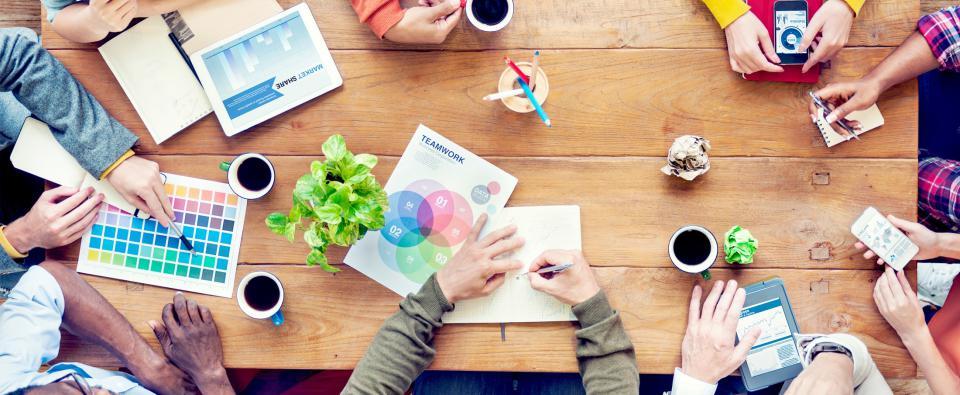 Publicidad y trabajo en equipo