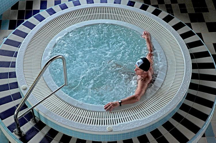 Como ser piscina nadador masaje